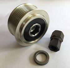 Alternator Overrun Pulley & Tool HEX Nissan Navara D40 Pathfinder R51 YD25DDTI