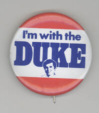 MIKE DUKAKIS Governor Massachusetts POLITICAL Pin BUTTON Pinback BADGE Boston MA