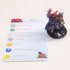 Heroclix Street Fighter set Akuma #022 Rare figure w/card!