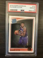 2018-19 Donruss DeAndre Ayton Rated Rookie PSA 10 Phoenix Suns RC