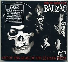 Balzac-out of the light of the 13 DARK NIGHT CD + BONUS DVD Horror punk Misfits