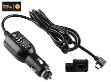 In Car Charger Right Angle MINI USB Cable for Tomtom GO 730 Sat Nav 1CH7.058.00