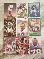 Bruce Smith HOF - NICE 9 CARD LOT Buffalo Bills / Virginia Tech