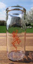 Half Pint Milk Bottle Breezy Hill Farm Laconia NH Excellent Paint New Hampshire
