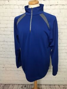 Demarini Men's Large 1/4 Zipper Baseball Jacket