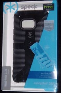 Speck Candyshell HTC One M9 Raised Rubber Grip Drop Tested Color Black NIB New