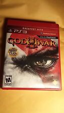 God of War III 3 Playstation 3 Game Complete W/ Strategy Guide Fun PS3 Games