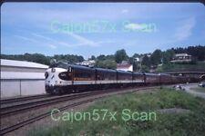 Original slide- NS F9Am #4271 & Pass. Special At Gallitzin, PA. 6/16