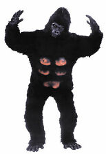 GORILLA PROFESSIONAL MASCOT ADULT MENS COSTUME Ape Animal Jungle Party Halloween