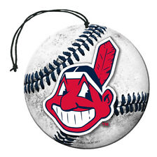 Cleveland Indians Baseball Air Freshener Vanilla Scent 3 Pack Car Truck NEW!!
