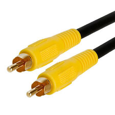 3 FT Premium RCA Digital Coax Coaxial Audio Video Cable Subwoofer Cord 3 FT