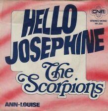 """THE SCORPIONS - Hello Josephine - dutch 7"""" - 1975"""