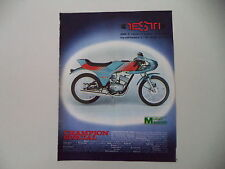 advertising Pubblicità 1976 MOTO TESTI CHAMPION SPECIAL 50