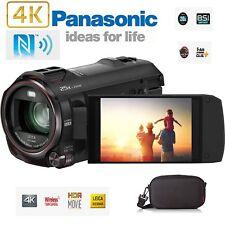 Panasonic VX980EB-K 4K Hybrid Sans Fil Caméscope Appareil Photo 18MP Leica NEUF