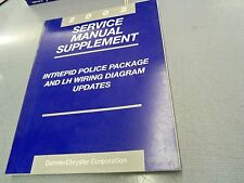 2002 Dodge Intrepid Police Package  Service Manual Supplement L@@K FREE Ship!!