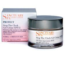 Sanctuary Spa Protect Stop The Clock Gel Creme, Day Cream, SPF15, 50ml