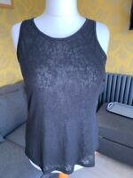 Ladies Marks and Spencers burnout vest tops Sizes 8-16 New without tags