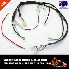 Electric Start Wiring Harness Loom 50cc 110cc 125cc PIT TRAIL DIRT MINI BIKE