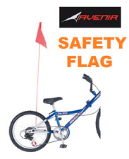 1 X Roaduserdirect Cycles Bike Safety Flag 1.5 Metre Axle Mount