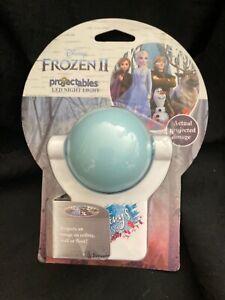New—Disney Frozen II Projectables, LED Night Light, Anna Elsa Olaf Kristoff