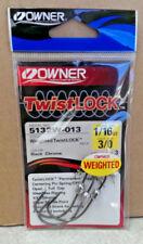 sizes 1//0-5//0 per pack drop shot hooks OWNER Twistlock CPS 5132 4pcs