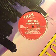 RAP TRAX • Volume One • Vinile LP • 1989 TRAX RECORDS