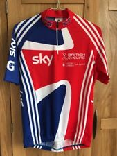 Adidas GB Team British Cycling Adidas Sky Road TT Track Bike SS Jersey Top