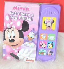 Mickey Mouse Clubhouse: Let's Have a Tea Party: Play-a-Sound,Hardcover Book