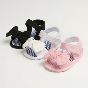 Toddler Kids Sandals Baby Girls Cute Bow Princess Sandals Learn For Walk Summer