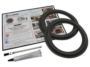 """BOSE 301 SPEAKER Parts 8"""" Woofer Foam Edge Replacement Repair Kit # FSK-8"""