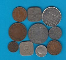 TEN COINS FROM THE NETHERLANDS 1878 TO 1984 IN FINE OR BETTER CONDITION