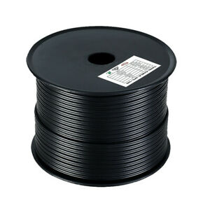 2 CORE TWIN CABLE - 3MM 4MM 5MM 6MM (12V)