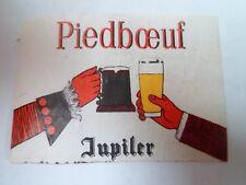 Etiquette allumette - BIERE - PIEDBOEUF - JUPILER - Belgium - (88)