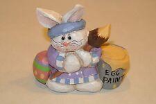Eddie Walker Easter Spring Artist Bunny Painting Painter Easter Eggs Signed