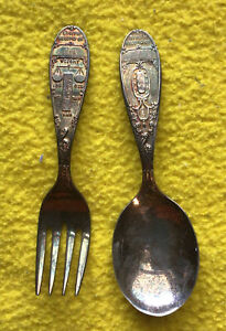 WM Rogers IS birth record of Amy Fork & Spoon Set