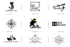 I will design a modern logo minimalist for you