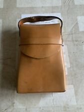 VINTAGE POLOROID SX 70 LAND CAMERA WITH ORIGINAL LEATHER CASE