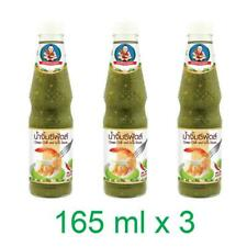 3 Healthy Boy Seafood Dipping Sauce Green Chilli Lime Seasoning Spicy Sour