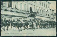 Gorizia Città Militari cartolina QT0978