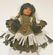 Limited Edition Native American Porcelain Doll by Goldenvale 1 of 2000