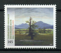 Germany 2019 MNH Museum Treasures Caspar David Friedrich 1v Set Art Stamps