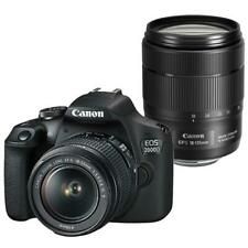 Canon EOS 2000D DSLR 24.1MP Camera with 18-55mm & EF-S 18-135mm IS USM Lens