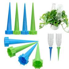 12pcs Automatic Garden Cone Watering Spike Plant Flower Bottle Irrigation UK