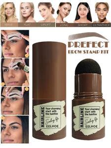 Magic~Brow Stamp Shaping Kit Eyebrow Definer Stencils Shaper Grooming Makeup Set
