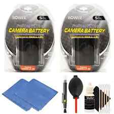 2x LP-E6 Replacement Battery + Kit for Canon 70D 5D Mark II III D-SLR Cameras