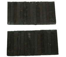 "30 PIECES PACK,  BLACK  EBONY PEN BLANKS WOOD TURNING SQUARE 3/4 x 3/4"" x  6"""