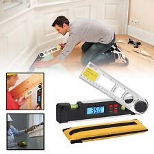 10 Inch Electronic Digital Lcd Protractor Inclinometer Spirit Level Angle Finder
