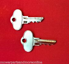 2 x John Deere Mower Ignition Key Rep. John Deere: AM131841, AM101600, GX &  LX