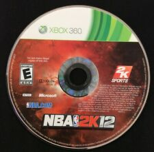 NBA 2K12 (XBOX 360) GAME DISC ONLY