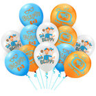 "12pcs 12"" Blippi Latex Balloons Kids Birthday Party Supplies Decoration Decors"